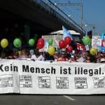 """""""Kein Mensch ist illegal"""". Die Sans-Papiers in der Schweiz"""